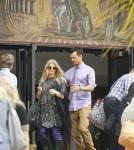 Pregnant Fergie & Josh Duhamel Attending Easter Sunday Church Service