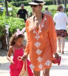 Halle Berry & Daughter Nahla Attend An Easter Egg Hunt In Maui