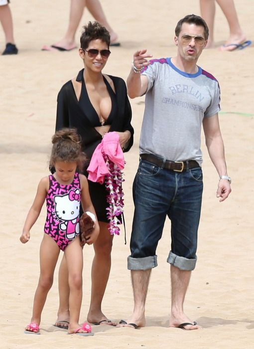 Halle berry and olivier martinez baby