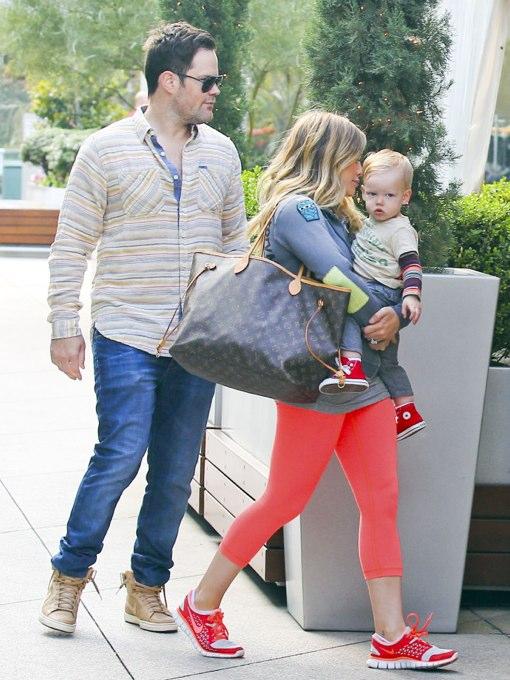 Hilary Duff & Family Enjoy a Weekend Brunch