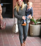 Hilary Duff Takes Luca To Baby Class