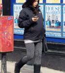 Pregnant Jenna Dewan Shops In Primrose Hill