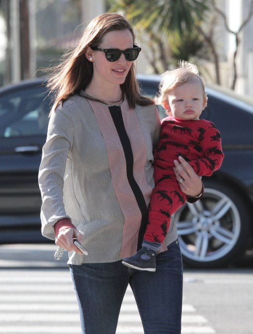 Jennifer Garner Enjoys a Day With Her Mini Moose
