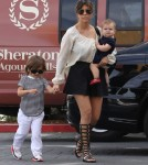 The Kardashian Family Attending Church In Agoura Hills