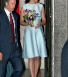 Kate Middleton Arriving At The National Portrait Gallery In London