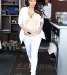 Kim Kardashian Out For Lunch At Il Pastaio