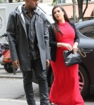 Kim Kardashian Goes Shopping With Kanye West