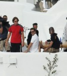 Kardashians Enjoy Breakfast Together In Greece