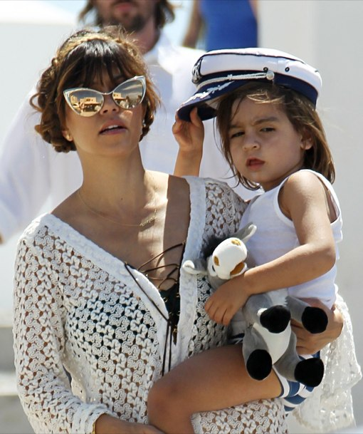 Kourtney Kardashian Continues Greek Island Vacation With Family