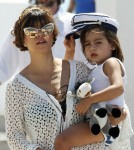 Kardashians & Jenners Take A Catamaran Boat Trip