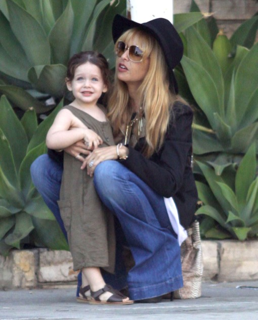 Rachel Zoe & Son Skyler Out In Beverly Hills