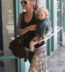 Rebecca Gayheart Takes Georgia To A Baby Class