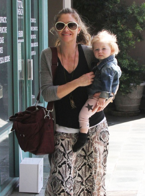 Rebecca Gayheart Holds Georgia Close on a Mother-Daughter Day