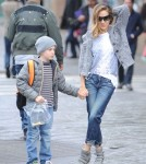 Sarah Jessica Parker & Matthew Broderick Take Their Kids To School