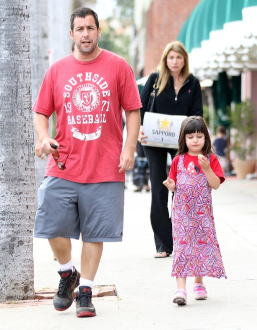 Adam Sandler & Sunny: Father-Daughter Dinner Date