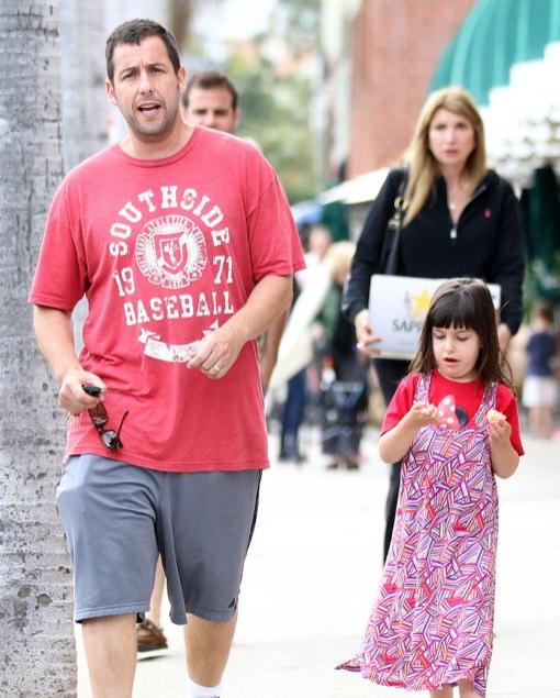 Adam Sandler & Sunny: Father-Daughter Dinner Date