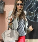 Alessandra Ambrosio Takes Anja To See The Doctor