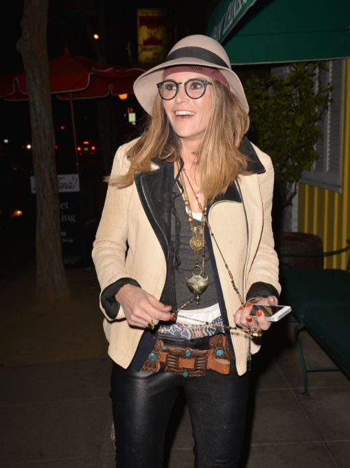 Brooke Mueller Enjoys A Night Out At Dan Tana's