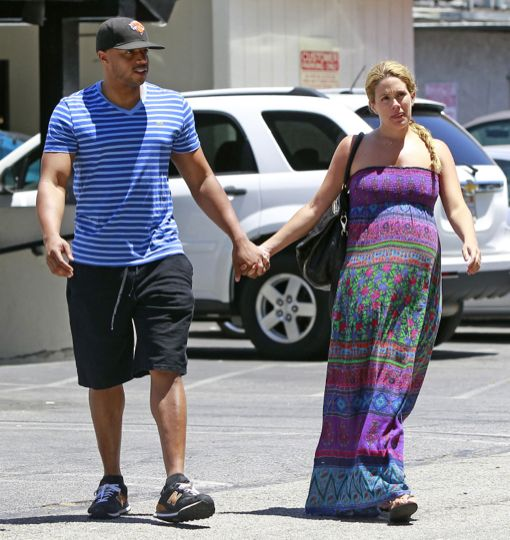CaCee Cobb & Donald Faison Catch Lunch