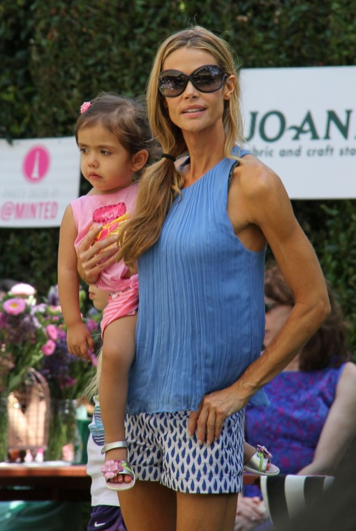 Exclusive Denise Richards Leaving A Private Party At The Grove  Celeb Baby Laundry-7052