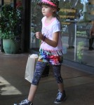 Denise Richards Takes Her Daughters Shopping