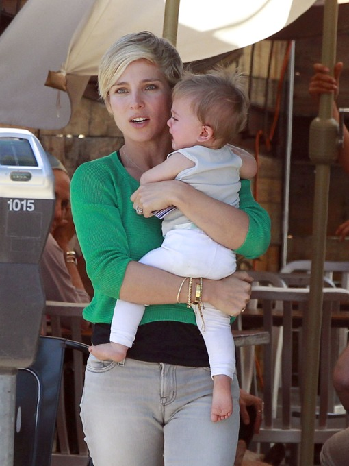Elsa Pataky Dotes On India During Mother-Daughter Lunch Date