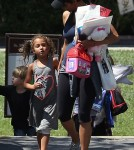 Halle Berry Picks Nahla Up From School