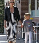 Exclusive... Heidi Klum And Martin Kristen Take Leni To Starbucks