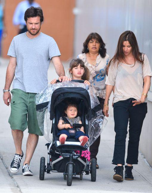 Jason Bateman & Family At The Hudson River Park | Celeb ...