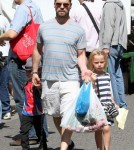 Jason Priestley Takes His Kids To The Farmers Market