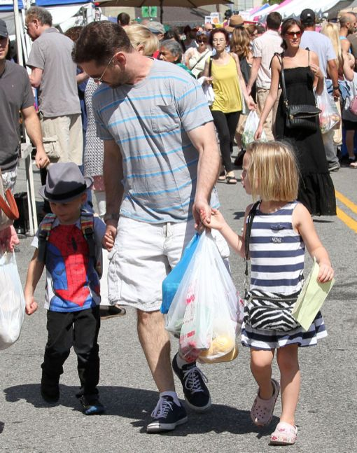 Jason Priestley: Farmers Market Dad