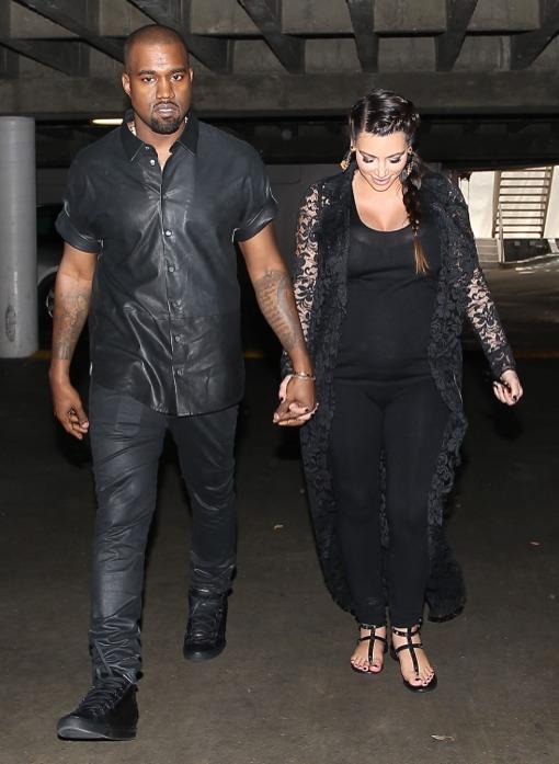 Kim Kardashian & Kanye West: Bumpin' Day