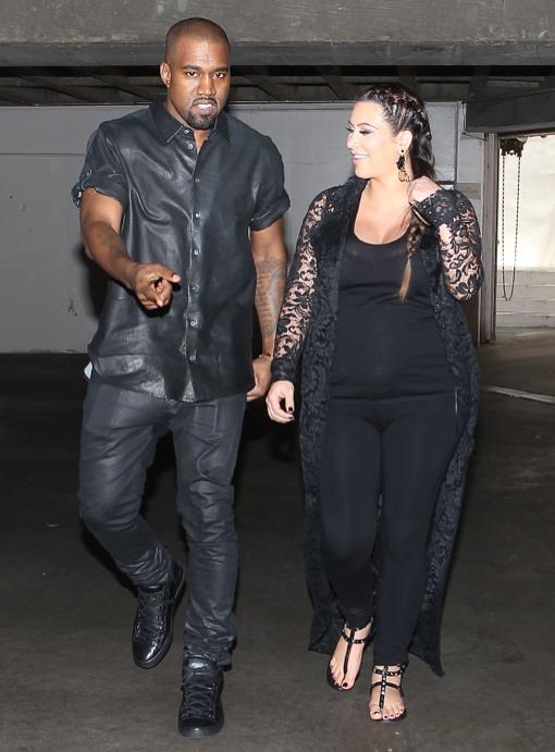 Kim Kardashian & Kanye West Welcome a Baby Girl | Celeb ... North West Baby Vogue