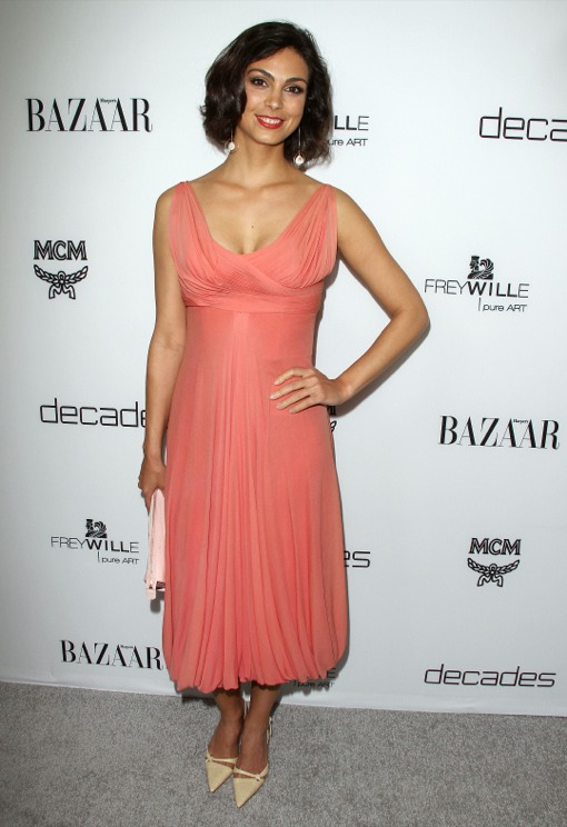 Morena Baccarin Is Expecting