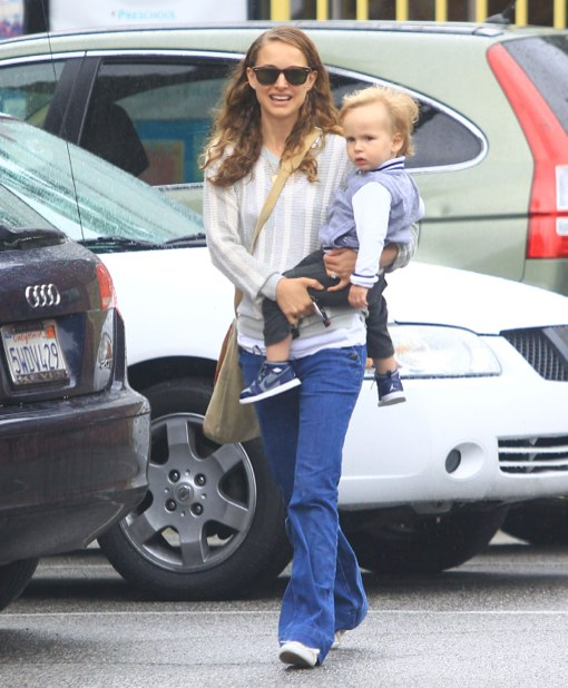 Natalie Portman Takes Aleph To Community Center