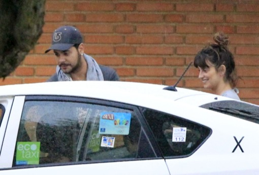 Penelope Cruz Visits Her Sister In Hospital