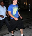 Prince Jackson & Remi Alfalah Out For Dinner At Madeo
