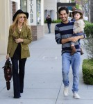 Rachel Zoe Grabs Lunch With Her Son In Beverly Hills