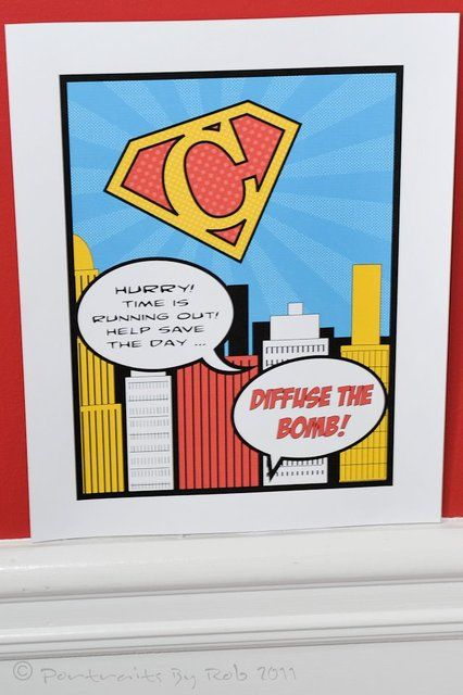 CRAFTING: Planning a Superhero Party