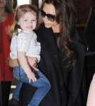 Victoria Beckham Takes Harper To Paris To Visit David On His Birthday