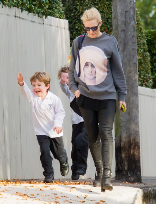 Exclusive Cate Blanchett Amp Sons Out In Sydney Celeb