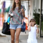 Alessandra Ambrosio Has a Bonding Day With Anja