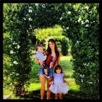 Alessandra Ambrosio Arrives In Paradise With Family