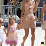 Alessandra Ambrosio Takes Anja to My Little Pony Equestria Girls Premiere