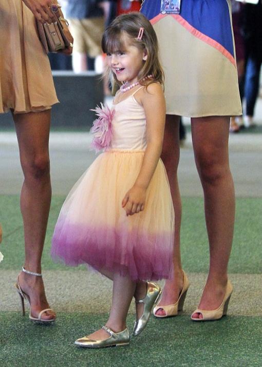 Alessandra Ambrosio Takes Anja to My Little Pony Equestria Girls Premiere