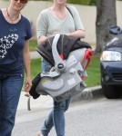 Alyson Hannigan Takes Keeva For A Ride