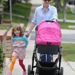 Alyson Hannigan: Saturday Strolling With Her Girls