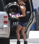 Exclusive... Anna Paquin Out And About With Her Twins