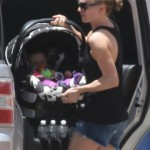 Anna Paquin: Day Out With Her Twins