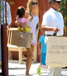 Exclusive... Denise Richards Takes Charlie's Twins Shopping